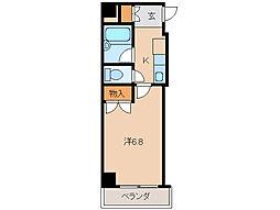 レジデンス六華[3階]の間取り