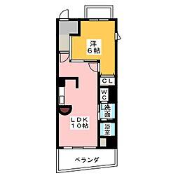 SK・PLACE[5階]の間取り