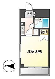 リエス千代田[5階]の間取り