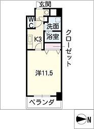 CASSIA錦本町通[6階]の間取り