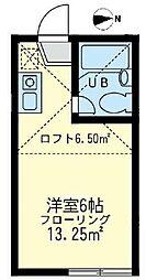 ネオステージ横須賀中央[202号室]の間取り