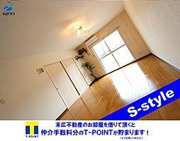 埼玉県熊谷市上之の賃貸マンションの外観