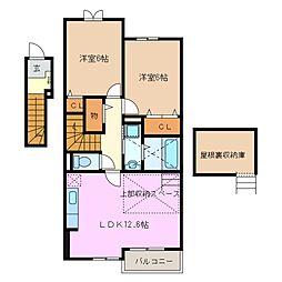 GREEN II B棟[2階]の間取り