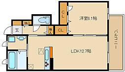 仮称 八尾市シャーメゾン高安町北2丁目計画[1階]の間取り