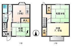 藤沢ハイツ[1階]の間取り