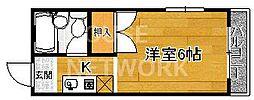 吉田マンション[405号室号室]の間取り