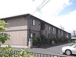 滋賀県草津市東草津2丁目の賃貸アパートの外観