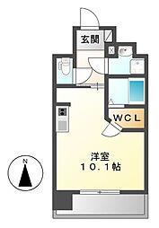 エスペランサ葵[8階]の間取り