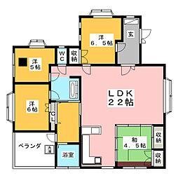 柳岡マンション[2階]の間取り