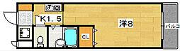 ライフハイム[3階]の間取り
