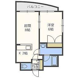 FEEL[3階]の間取り
