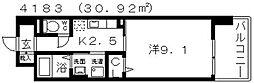 ドマーニ[601号室号室]の間取り