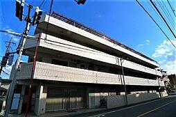 市川マンション[3階]の外観