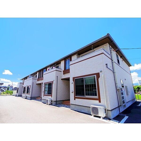 長野県松本市井川城3丁目の賃貸アパート