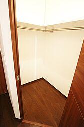 洋室約5.3帖に隣接するWIC。