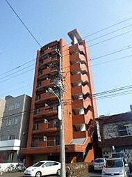 北海道札幌市北区北十六条西3丁目の賃貸マンションの外観