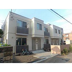 北海道札幌市中央区南五条西14丁目の賃貸アパートの外観