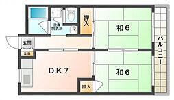 メゾン忍ケ丘[3階]の間取り