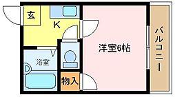 メゾン尾井[3階]の間取り