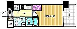 エステムコート梅田天神橋IIグラシオ[5階]の間取り