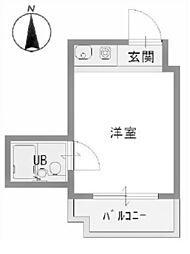 グランレズム新大阪[507号室]の間取り