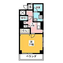 環BUILD[5階]の間取り
