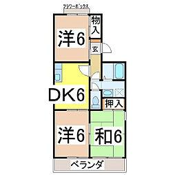 ドゥファミリー[2階]の間取り