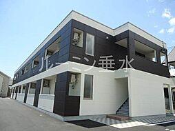 仮 北条町横尾新築アパートH30年3月[2階]の外観