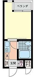 日神パレス戸塚[3階]の間取り