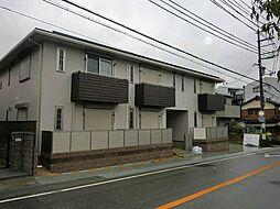 兵庫県三田市西山1丁目の賃貸アパートの外観
