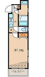 ピアコートTM新宿戸山[102号室号室]の間取り