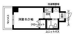 Nasic梶ヶ谷[413号室号室]の間取り