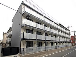 東京都大田区下丸子2丁目の賃貸アパートの外観