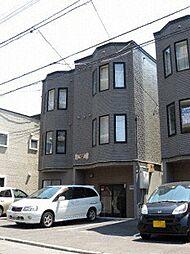 北海道札幌市中央区北七条西22丁目の賃貸アパートの外観