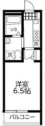 神奈川県横浜市港北区篠原西町の賃貸アパートの間取り