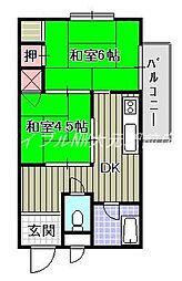 橋本興産第1ビル[2階]の間取り