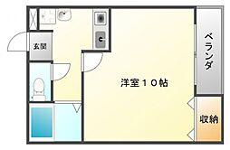 ベーシックファーム豊津[2階]の間取り