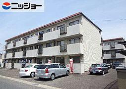 柿沢ハイツ A棟[1階]の外観