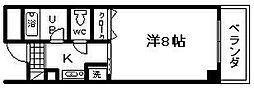 マ・メゾン21[2階]の間取り