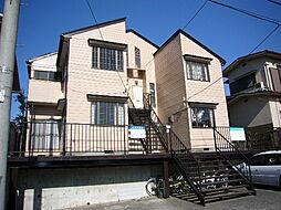 宮城県仙台市青葉区水の森3丁目の賃貸アパートの外観