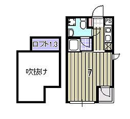 Minoa-Ru[307号室]の間取り