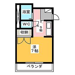 花の木ハウス[1階]の間取り