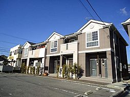 愛知県西尾市上町菖蒲池の賃貸アパートの外観