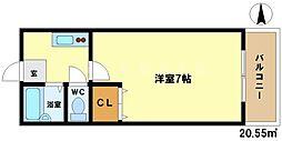 メゾン石井[3階]の間取り