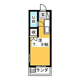 戸崎ビル[3階]の間取り