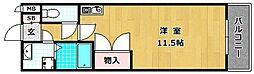 シャンポールかささぎ[3階]の間取り