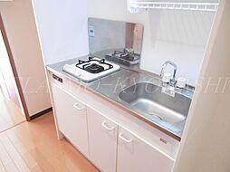 エスリード京橋III番館のキッチンは1口ガスシステムキッチン