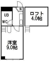 ロピア812[103号室]の間取り
