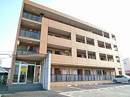 群馬県伊勢崎市連取町の賃貸マンションの外観