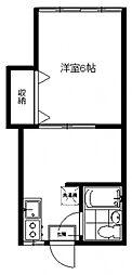 はづき荘[202号室号室]の間取り